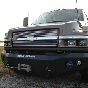 Road Armor - Road Armor TK1020B Stealth Winch Front Bumper for Chevy C4500/C5500 Kodiak 2003-2009 - Image 4