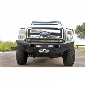 Exterior Accessories - Bumpers - Addictive Desert Designs - ADD F067455030103 HoneyBadger Winch Front Bumper for Ford F250/F350 2011-2016