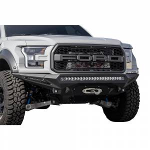 Exterior Accessories - Bumpers - Addictive Desert Designs - ADD F111202860103 Stealth Fighter Front Bumper for Ford Raptor 2017-2020