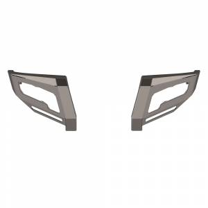 Road Armor - Road Armor 6114DF1 Identity Front Bumper Wide End Pods for Ford F250/F350/F450/F550 2011-2016