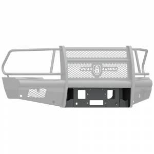 Road Armor 410V-WP Vaquero Winch Front Bumper Plate for Dodge Ram 2500/3500/4500/5500 2010-2018