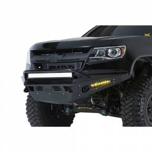 Shop Bumpers By Vehicle - Chevy Colorado - Addictive Desert Designs - ADD F357412720103 HoneyBadger Front Bumper for Chevy Colorado 2015-2019