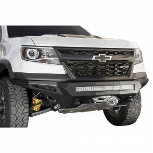 Shop Bumpers By Vehicle - Chevy Colorado - Addictive Desert Designs - ADD F371202740103 Stealth Fighter Front Bumper for Chevy Colorado ZR2 2017-2019