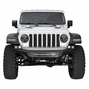 Shop Bumpers By Vehicle - Jeep Wrangler JL - Addictive Desert Designs - ADD F961192080103 Stealth Fighter Front Bumper for Jeep Wrangler JL/Gladiator JT 2018-2020