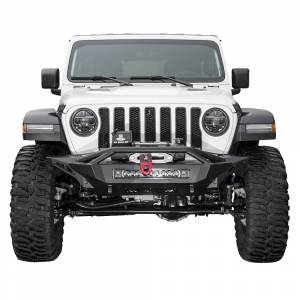 Shop Bumpers By Vehicle - Jeep Wrangler JL - Addictive Desert Designs - ADD F961232080103 Stealth Fighter Winch Front Bumper for Jeep Wrangler JL/Gladiator JT 2018-2020
