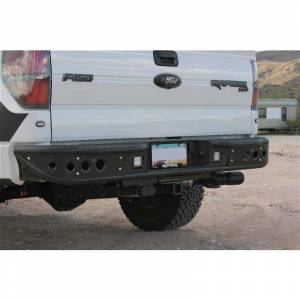 Addictive Desert Designs - ADD R012231280103 Venom Rear Bumper with Sensor Holes for Ford F150 2009-2014