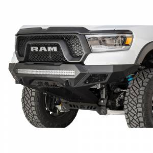 Shop Bumpers By Vehicle - Dodge Ram Rebel - Addictive Desert Designs - ADD F611402770103 Stealth Fighter Non-Winch Front Bumper with Sensor Holes for Dodge Ram 1500 Rebel 2019-2020