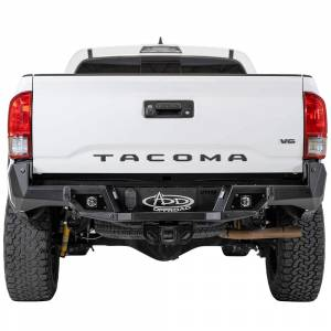 Addictive Desert Designs - ADD R681241280103 Stealth Fighter Rear Bumper with Backup Sensors for Toyota Tacoma 2016-2020 - Image 1