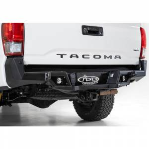 Addictive Desert Designs - ADD R681241280103 Stealth Fighter Rear Bumper with Backup Sensors for Toyota Tacoma 2016-2020 - Image 2