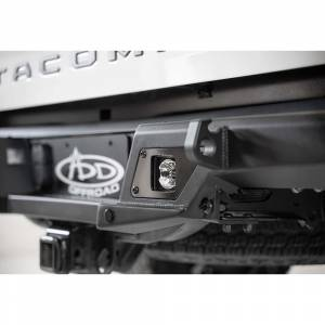 Addictive Desert Designs - ADD R681241280103 Stealth Fighter Rear Bumper with Backup Sensors for Toyota Tacoma 2016-2020 - Image 5