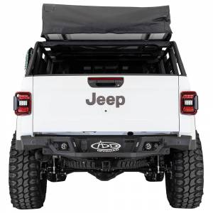 Shop Bumpers By Vehicle - Jeep Gladiator JT - Addictive Desert Designs - ADD R971241280103 Stealth Fighter Rear Bumper with Backup Sensors for Jeep Gladiator JT 2020-2020