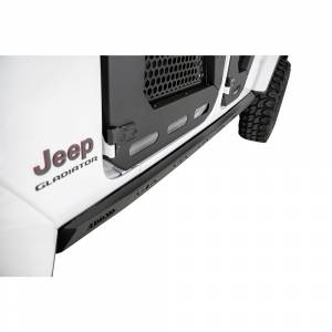 Shop Bumpers By Vehicle - Jeep Gladiator JT - Addictive Desert Designs - ADD S971192050103 Rock Sliders Side Steps for Jeep Gladiator JT 2020-2020