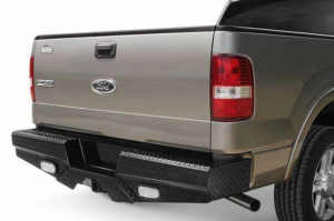 Frontier Gear Diamond Back Bumpers - Ford - Frontier Gear - Frontier Gear 100-10-6013 Rear Bumper with Sensor Holes and Lights for Ford F150 2006-2008