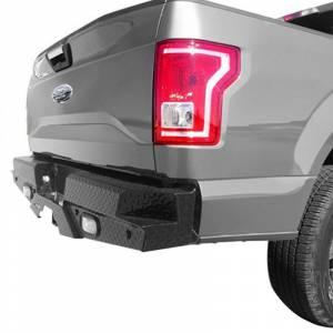 Chevy Silverado 2500/3500 - Chevy Silverado 2500HD/3500 2015-2019 - Frontier Gear - Frontier Gear 100-11-5011 Rear Bumper with Sensor Holes and Lights for Ford F150 2015-2019