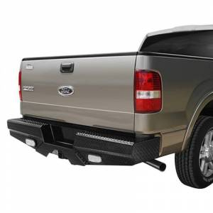 Frontier Gear 100-11-7008 Rear Bumper with Sensor Holes and No Lights for Ford F250/F350 2017-2021
