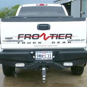 Frontier Gear - Frontier Gear 100-20-1007 Rear Bumper with Lights for Chevy Silverado 2500 HD/3500 2001-2006 - Image 2