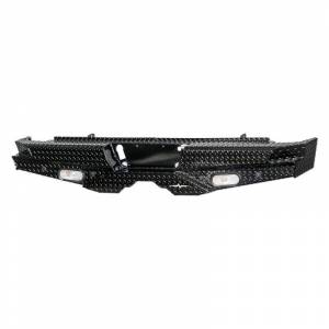 Frontier Gear 100-20-7009 Rear Bumper with Sensor Holes and Lights for GMC Sierra 1500 2007-2013
