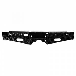 Frontier Gear 100-20-7012 Rear Bumper with Sensor Holes and No Lights for GMC Sierra 2500 HD/3500 HD 2007-2010