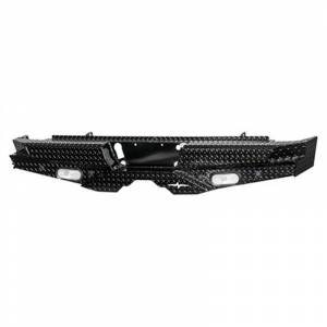 Frontier Gear 100-21-1012 Rear Bumper with Sensor Holes and No Lights for GMC Sierra 2500 HD/3500 HD 2011-2014