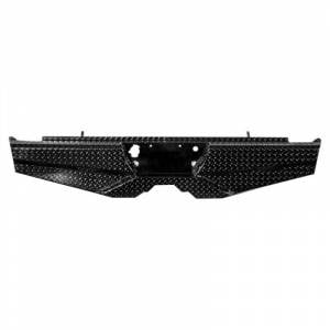 Frontier Gear 100-29-9006 Rear Bumper without Lights for Chevy Silverado 1500/1500HD/2500HD 1999-2007