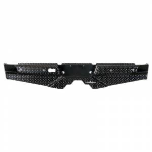 Frontier Gear - Frontier Gear 100-41-0003 Rear Bumper with Sensor Holes and No Lights for Dodge Ram 1500 2010 and Ram 1500 2011-2018