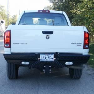 Frontier Gear - Frontier Gear 100-49-8004 Rear Bumper with Lights for Dodge Ram 2500/3500 2003-2008