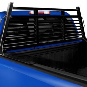 Frontier Gear - Frontier Gear 110-20-7006 Full Louvered 2HR Headache Rack for Chevy Silverado 1500/2500 HD/3500 HD and GMC Sierra 1500/2500 HD/3500 HD 2007-2018 - Image 2