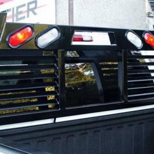 Frontier Gear - Frontier Gear 110-20-7009 Open Window 2HR Headache Rack with Light for Chevy Silverado 1500/2500 HD/3500 HD and GMC Sierra 1500/2500 HD/3500 HD 2007-2018 - Image 3