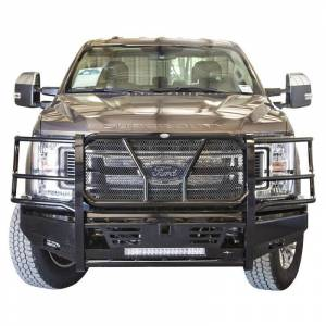 Frontier Gear 130-11-7006 Pro Front Bumper with Light Bar Compatible for Ford F250/F350 2017-2019