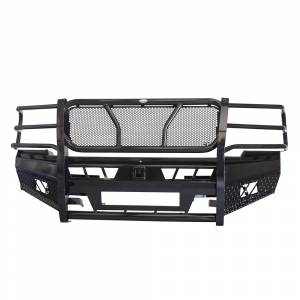 Frontier Gear - Frontier Gear 130-21-1006 Pro Front Bumper with Light Bar Compatible for Chevy Silverado 2500 HD/3500 HD 2011-2014