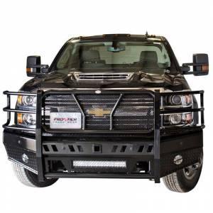 Chevy Silverado 2500/3500 - Chevy Silverado 2500HD/3500 2015-2019 - Frontier Gear - Frontier Gear 130-21-5006 Pro Front Bumper with Light Bar Compatible for Chevy Silverado 2500 HD/3500 HD 2015-2019