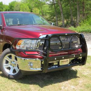 Frontier Gear - Frontier Gear 200-40-9005 Grille Guard with Sensor for Dodge Ram 1500 2009-2010 and Ram 1500 2011-2018