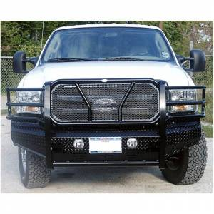 Frontier Gear - Frontier Gear 300-10-5005 Front Bumper for Ford F250/F350/Excursion 2005-2007