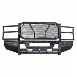 Frontier Gear - Frontier Gear 300-10-8006 Front Bumper with Light Bar Compatible for Ford F250/F350 2008-2010