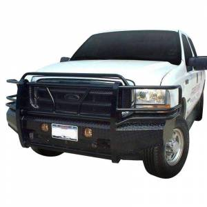 Frontier Gear - Frontier Gear 300-19-9005 Front Bumper for Ford F250/F350/Excursion 1999-2004