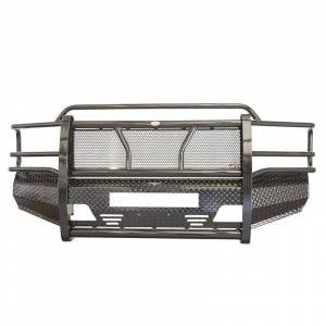 Frontier Gear 300-19-9006 Front Bumper with Light Bar Compatible for Ford F250 1999-2004
