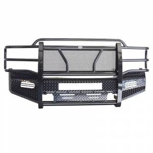 Frontier Gear - Frontier Gear 300-20-1006 Front Bumper with Light Bar Compatible for Chevy Silverado 2500/3500 2001-2002 - Image 1