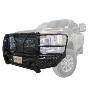 Frontier Gear - Frontier Gear 300-20-1006 Front Bumper with Light Bar Compatible for Chevy Silverado 2500/3500 2001-2002 - Image 3