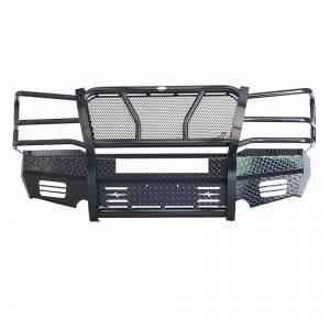 Frontier Gear - Frontier Gear 300-20-3006 Front Bumper with Light Bar Compatible for Chevy Silverado 2500 HD/3500 2003-2006