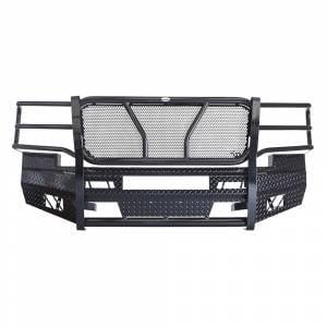 Frontier Gear - Frontier Gear 300-20-7006 Front Bumper with Light Bar Compatible for Chevy Silverado 2500 HD/3500 HD 2007-2010