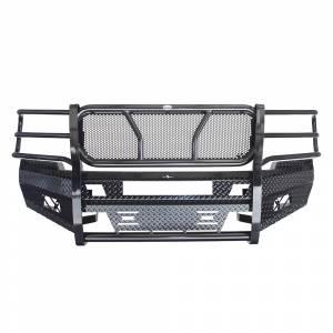 Frontier Gear - Frontier Gear 300-21-1006 Front Bumper with Light Bar Compatible for Chevy Silverado 2500 HD/3500 HD 2011-2014