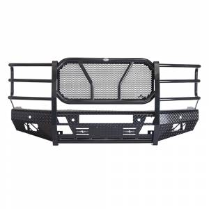 Frontier Gear 300-21-4010 Front Bumper with Light Bar Compatible for Chevy Silverado 1500 2014-2015