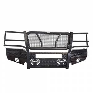 Frontier Gear - Frontier Gear 300-30-3006 Front Bumper with Light Bar Compatible for GMC Sierra 2500 HD/3500 2003-2006