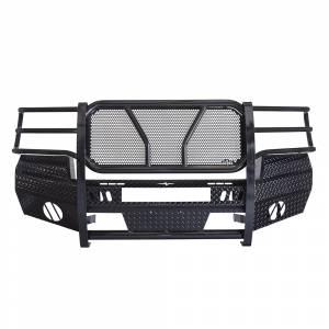 Frontier Gear - Frontier Gear 300-30-7006 Front Bumper with Light Bar Compatible for GMC Sierra 2500 HD/3500 HD 2007-2010