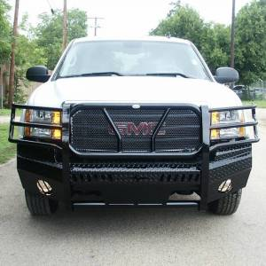 Frontier Gear Front Bumper Replacements - GMC - Frontier Gear - Frontier Gear 300-30-7008 Front Bumper for GMC Sierra 1500 2007-2013