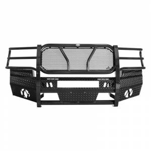Frontier Gear 300-30-7009 Front Bumper with Light Bar Compatible for GMC Sierra 1500 2007-2013