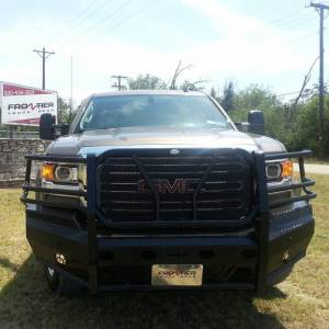 Frontier Gear Front Bumper Replacements - GMC - Frontier Gear - Frontier Gear 300-31-5005 Front Bumper for GMC Sierra 2500 HD/3500 HD 2015-2019