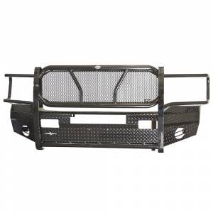 Frontier Gear - Frontier Gear 300-40-3006 Front Bumper with Light Bar Compatible for Dodge Ram 1500/2500/3500 2003-2005