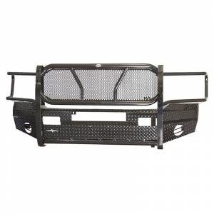 Frontier Gear - Frontier Gear 300-40-6006 Front Bumper with Light Bar Compatible for Dodge Ram 1500/2500/3500 2006-2008