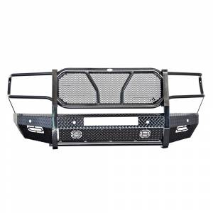 Frontier Gear - Frontier Gear 300-41-9005 Front Bumper with Light Bar Compatible for Dodge Ram 1500 2019-2020 New Body Style